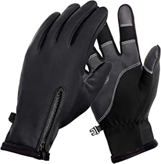 Winter Gloves Touch Screen Fingers Warm Gloves Insulated Anti-Slip Windproof Waterproof Cycling Riding Running Work for Me...