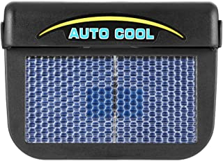 Kongqiabona Solar Power Auto Auto Air Vent K/ühler L/üfter K/ühlerl/üfter K/ühlerl/üfter Abluftventilator Auto Fan mit Gummi