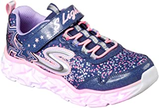 Skechers Girls' Galaxy Lights Sneaker
