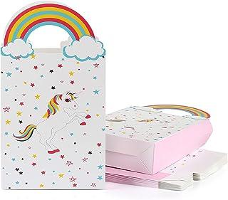 Talking Tables PARTYBAG Confezione da 6 Pezzi per Feste di Compleanno a Forma di unicorni Paper