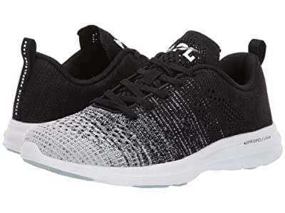 Athletic Propulsion Labs (APL) Techloom Pro (White/Heather Grey/Black Melange) Women