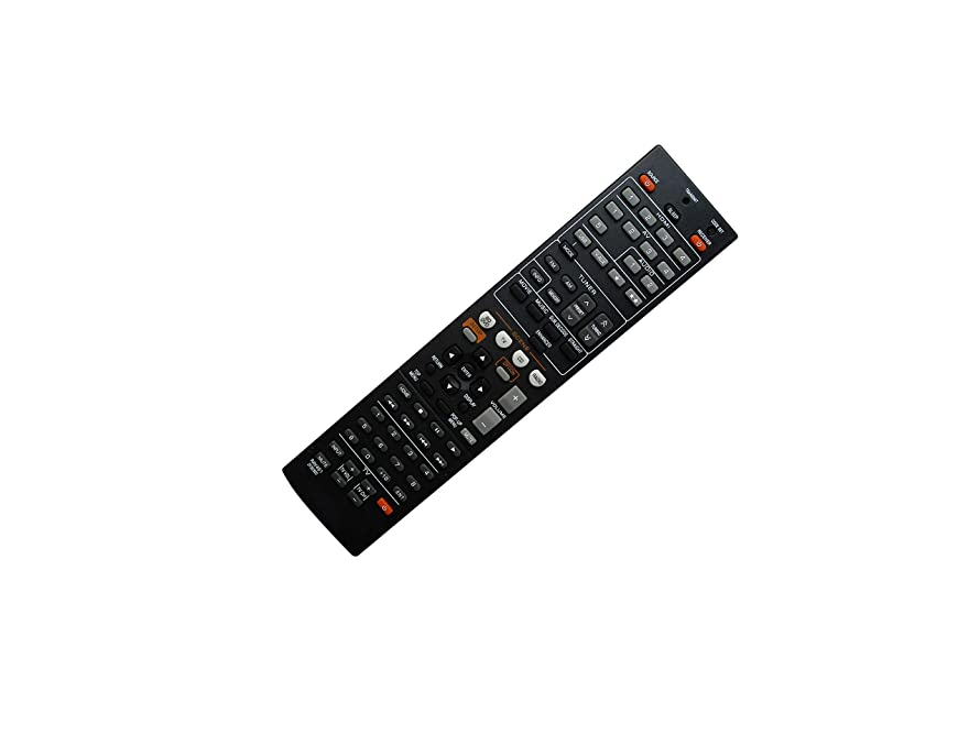 Hotsmtbang Replacement Remote Control for Yamaha ZF303700 RAV498 RX-V575 RX-V575BL HTR-5066 RX-V475 RX-V475BL Network AV Receiver