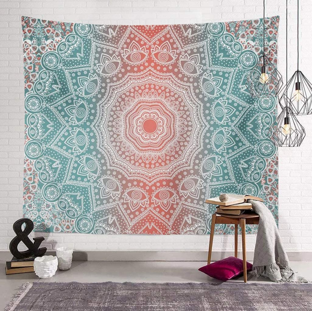 Mesa Mall AITREASURE Mandala Tapestry Year-end annual account Hippie Tapestries Psychedel Bohemian