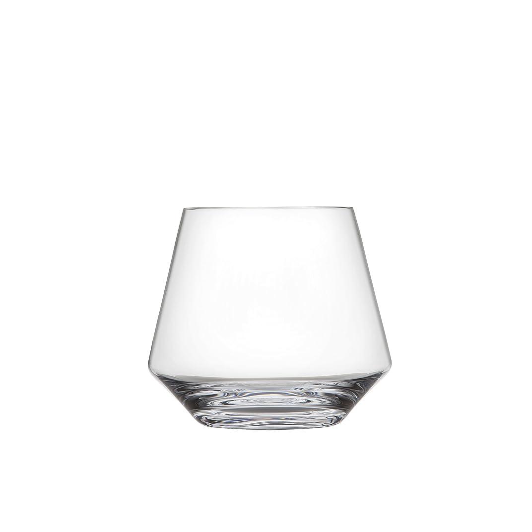排泄する製油所ニッケル(Set of 6, Stemless Burgundy) - Schott Zwiesel Tritan Crystal Glass Pure Collection Stemless Burgundy Red Wine Glass, 470ml, Set of 6