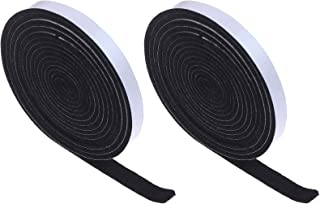 Xgood 19.7 Feet BBQ Gasket Smoker Grill Tape High Temp Grill Seal Tape Self Stick Gasket 1/8 Inch Thickness,0.5 Inch Wide(...