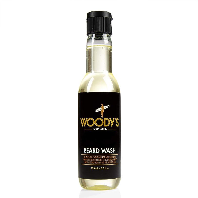 逆に怠何かWoody's Quality Grooming - Beard Wash - 6.5oz/190ml
