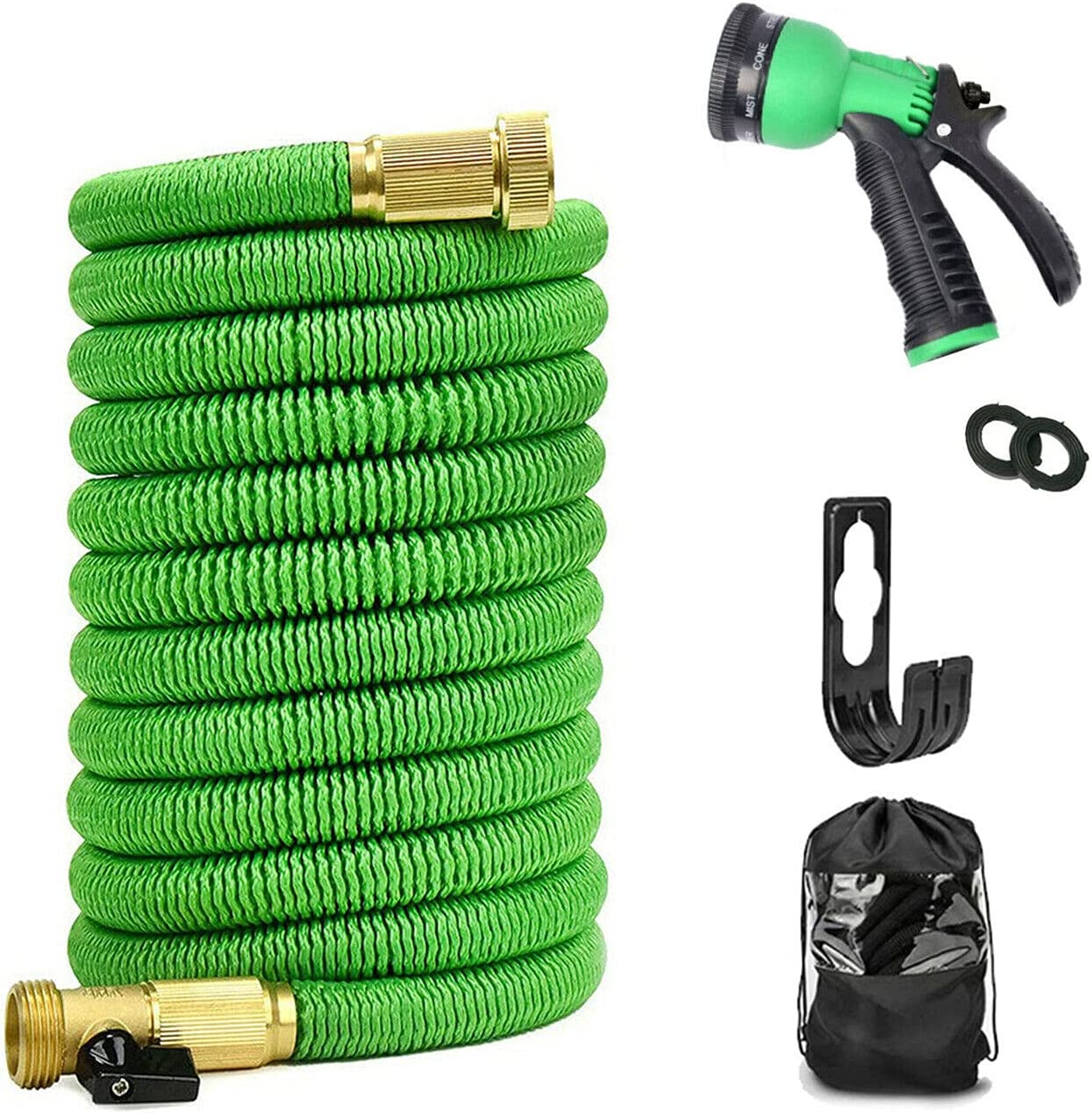 Pyladea Expandable Max 76% OFF Garden Hose with Function 8 Ligh Nozzle Overseas parallel import regular item