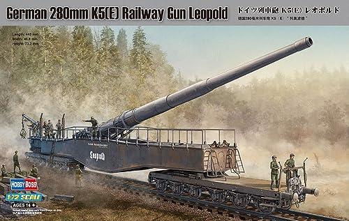 online barato Hobbyboss Hobbyboss Hobbyboss 1 72 - German 280mm K5(E) Railway Gun Leopold - (HBB82903)  ventas en linea
