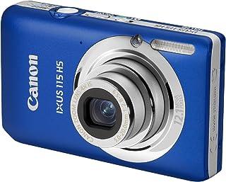 Canon IXUS 115 HS Digitalkamera (12 MP, 4 fach opt. Zoom, 7,6cm (3 Zoll) Display, Full HD, bildstabilisiert) blau