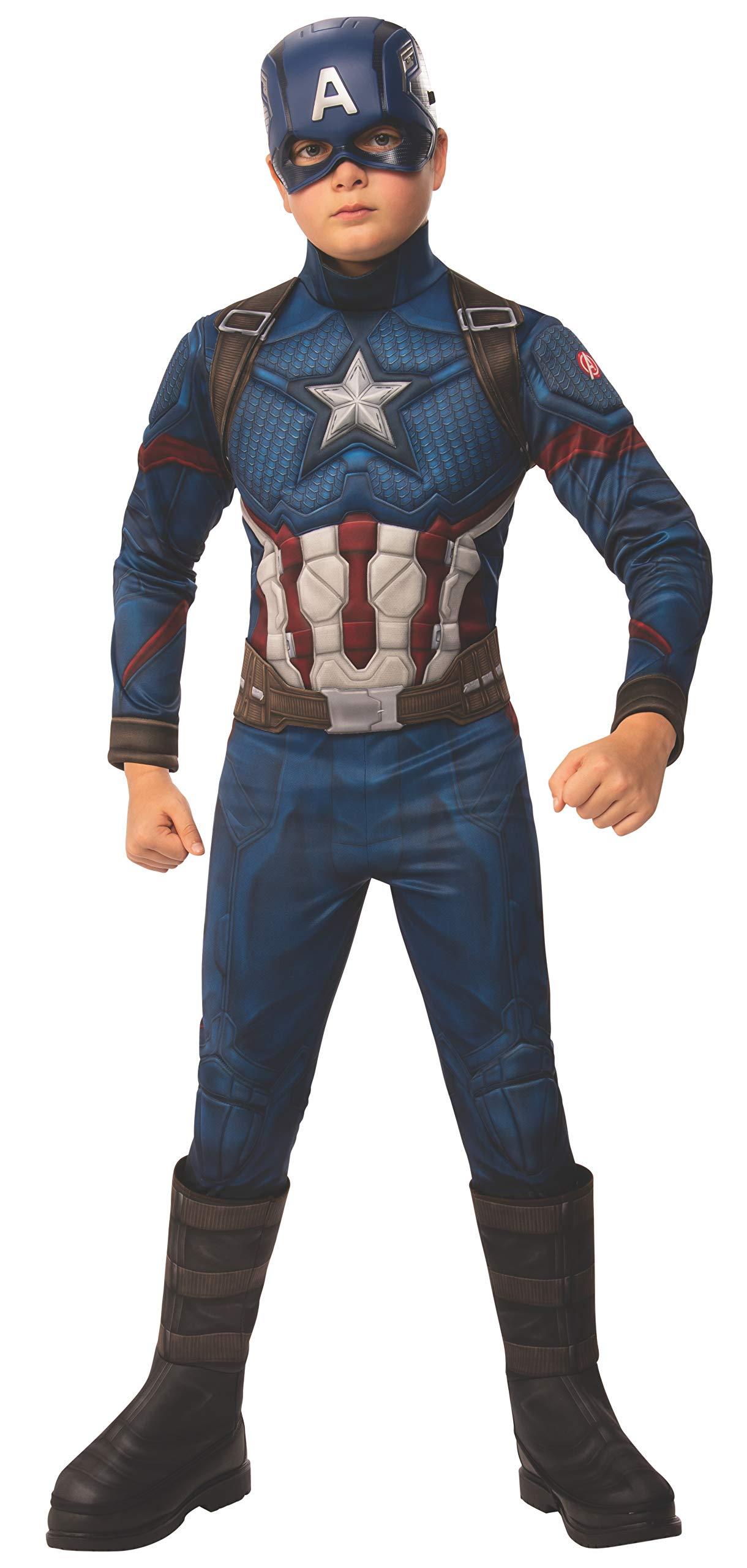 Rubie's Marvel Avengers: Endgame Deluxe Captain America Costume & Mask