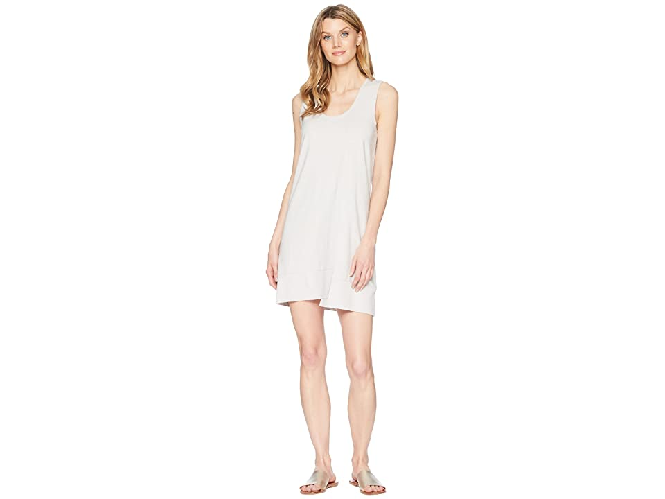 Lilla P Rib Hem Dress (Nickel) Women