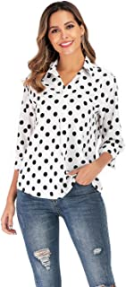 Best black polka dot shirt Reviews