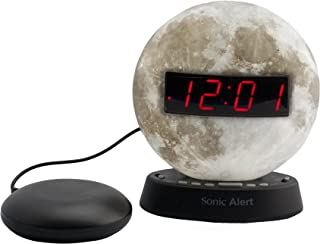 Sonic Alert The Sonic Glow Extra Loud Moon Themed Recordable Alarm and Super Shaker - SBW100MOSS