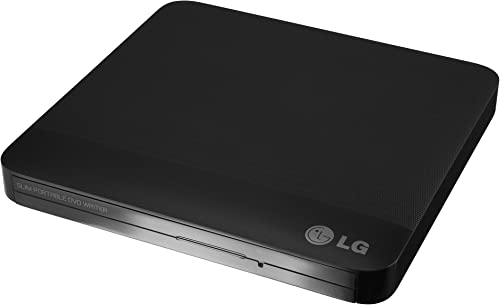 LG Electronics GP50NB40 8X USB 2.0 Slim Portable DVD Rewriter External Drive with M-DISC Support, Black