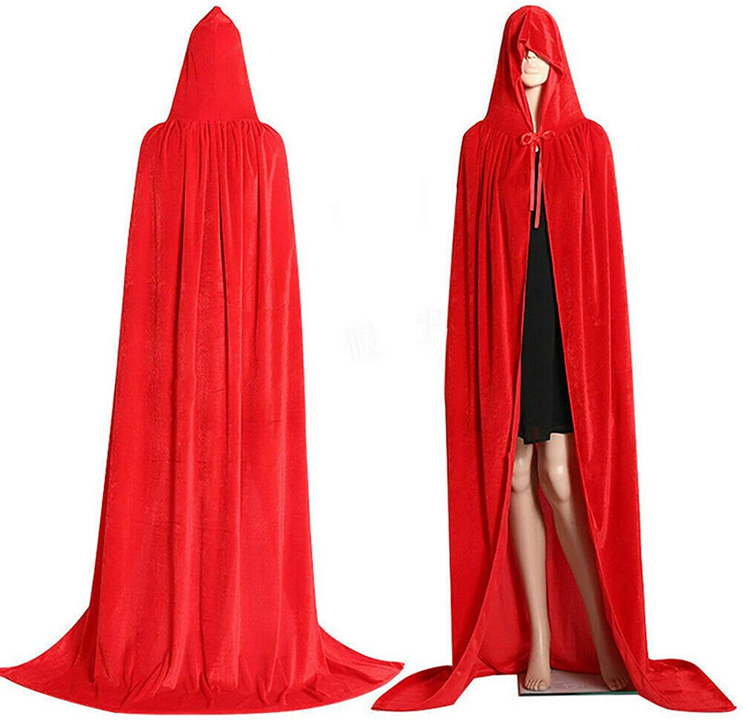 Mediaeval Hooded Cloak Adult Elf Carniva Free Shipping Cheap Bargain Gift Longsighted Popular popular Witch Purim