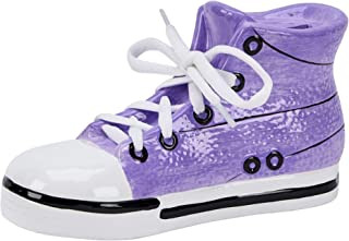 Creative Gifts International Purple Sneaker Bank, Purple, Large