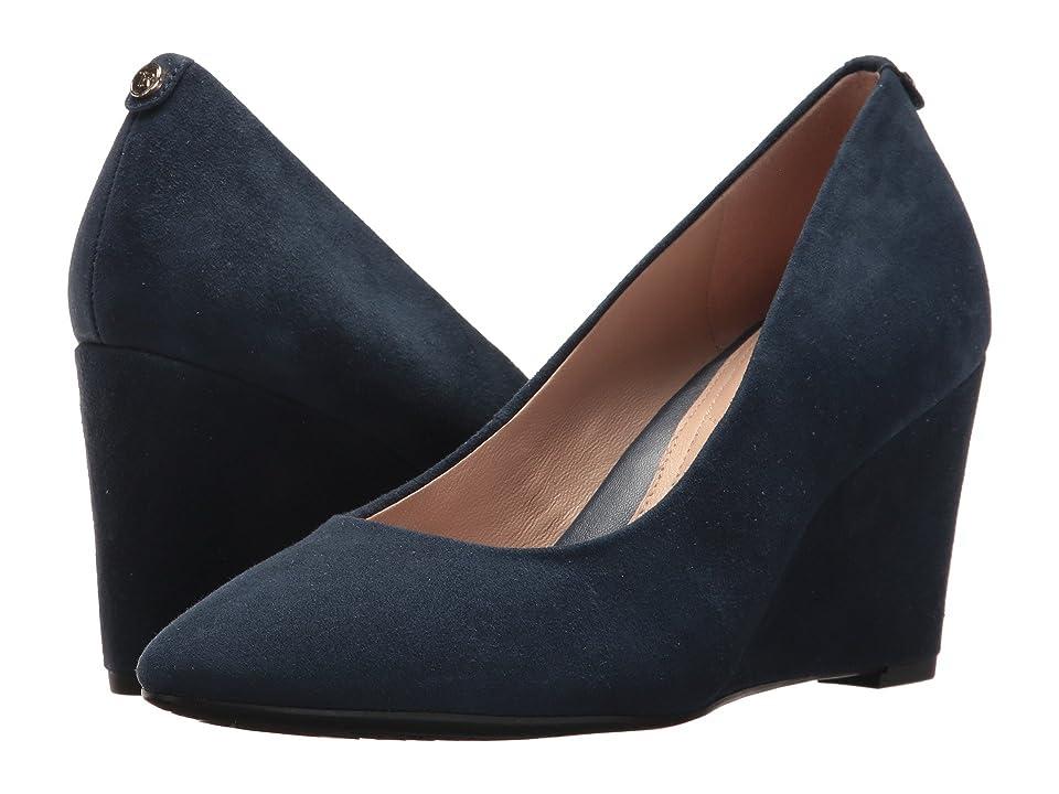 Taryn Rose Ysabella (Navy Silky Suede) High Heels