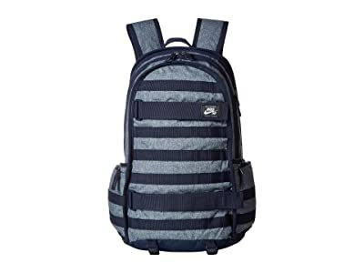 Nike SB RPM All Over Print Backpack (Black/Black/Mountain Blue) Backpack Bags