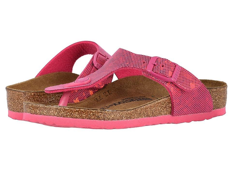 Birkenstock Kids Gizeh (Little Kid/Big Kid) (Hologram Pink) Girls Shoes