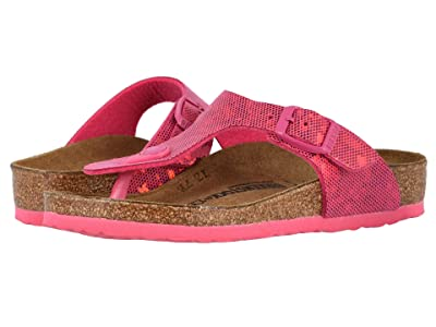 Birkenstock Kids Gizeh (Little Kid/Big Kid) (Hologram Pink) Girls Shoes
