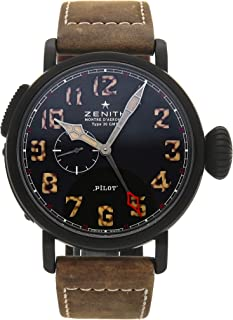 Pilot Mechanical (Automatic) Black Dial Mens Watch 96.2431.693/21.C738 (Certified Pre-Owned)
