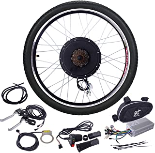"""JAXPETY 48V 1000W Electric Bicycle Cycle E Bike 26"""" Front/Rear Wheel Ebike Hub Motor.."""