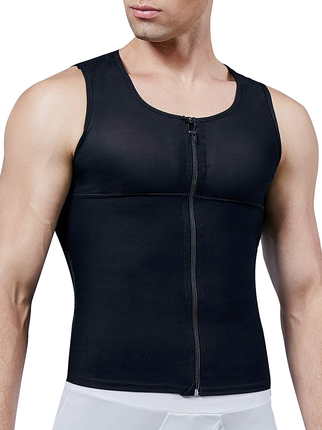 MISS Ranking TOP4 MOLY Compression Shirts for Men Hide to Gynecomastia Moobs Max 60% OFF