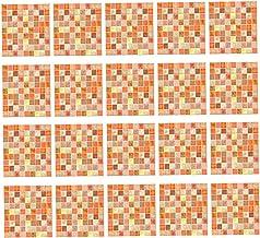 20 stuks 20 cm x 20 cm, zelfklevend, tegelstickers, 3D-muurstickers, stickers, stickers, voor keuken, aanvullingen, huis, ...