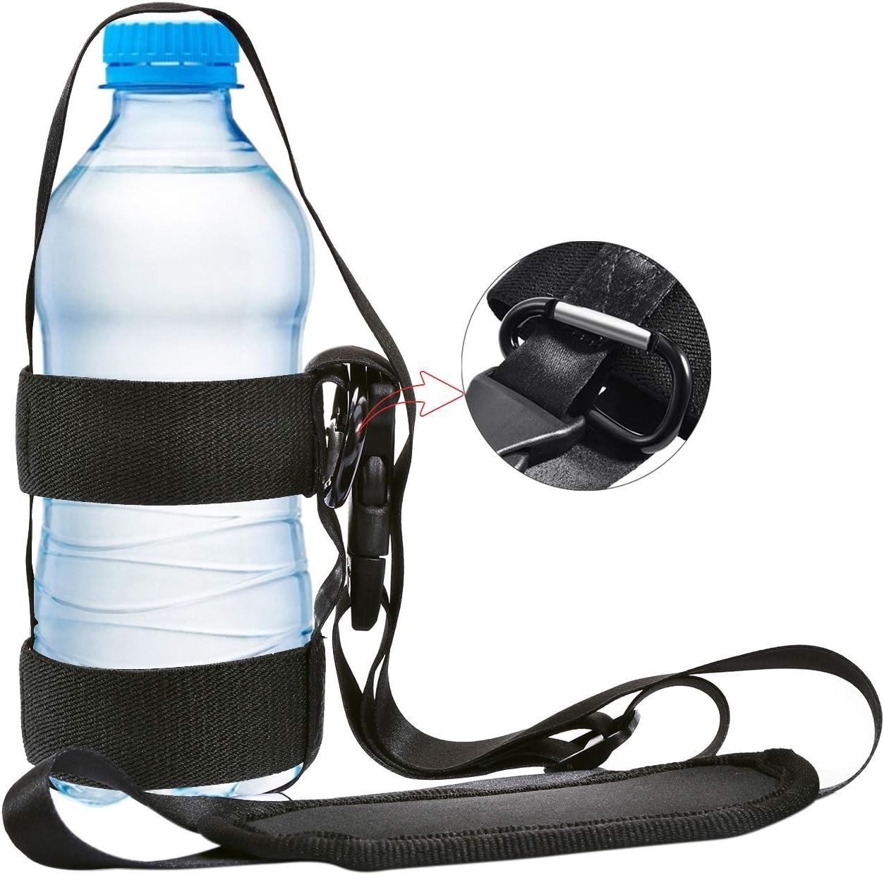 Glovion Adjustable Water Bottle Sling,Compact Lanyard Bottle Carrier
