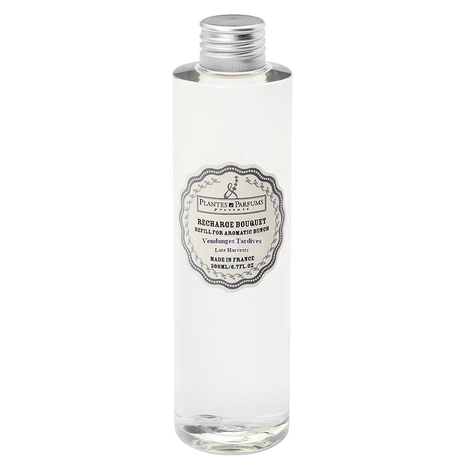 電池マサッチョデッキPlantes&Parfums ディフューザーレフィル [] レイトグレープハーベスト