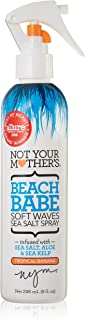 Not Your Mother's Beach Babe Soft Waves Sea Salt Spray, Tropical Banana Scent - 8 Ounce