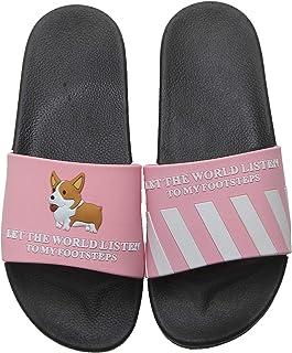 xsby Women's and Men's Shower Slide Sandals Open Toe House Bath Slippers