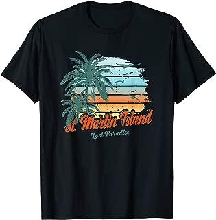 St. Martin Island Beach Shirt Lost Paradise