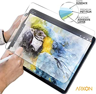 Arxon Paper iPad Pro 12.9 Screen Protector (2018/19), Matte PET Film for Drawing High Touch Sensitivity Anti Glare Scratch Resistant Film and Paper Texture, Compatible with Apple Pencil & Face ID