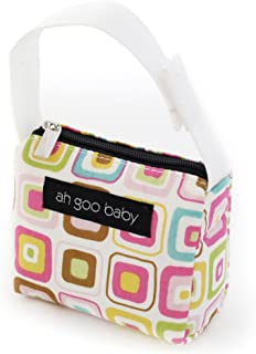 Ah Goo Baby Pacifier Holder and Tote, Gumdrop Pattern