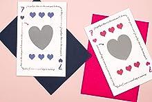 Annonce grossesse | Duo de cartes à gratter | Duo de cartes à gratter Tu vas être Papy et Tu vas être Mamie | Annonce grands-parents