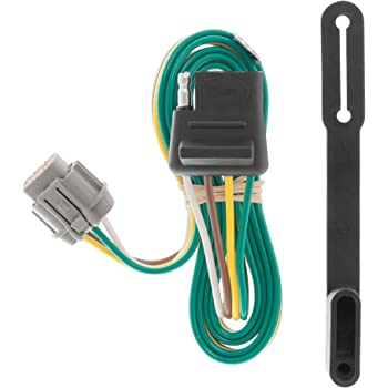 amazon.com: curt 55441 vehicle-side custom 4-pin trailer wiring harness for  select nissan frontier, pathfinder, xterra, suzuki equator: automotive  amazon.com