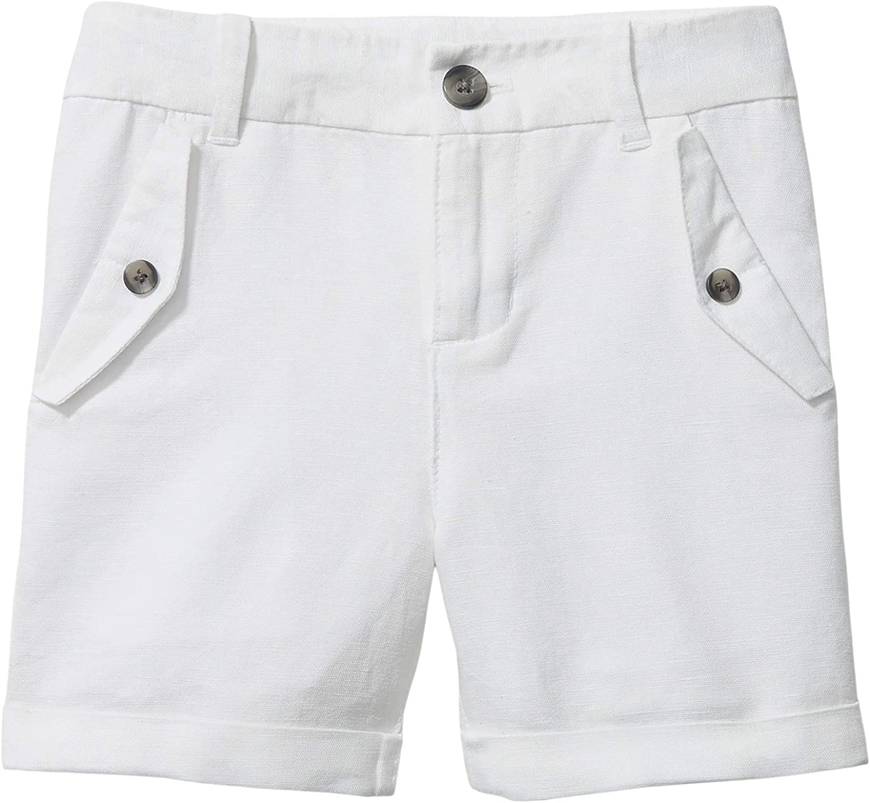 Janie and Jack Boy's Linen Front Pocket Linen Shorts (Toddler/Little Kids/Big Kids)