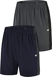 AIRIKE Men's Workout Running Shorts Lightweight Quick Dry Gym Athletic Shorts with Pockets