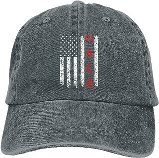 Unisex Make America Great Again MAGA Vintage Adjustable Baseball Cap Denim Dad Hat