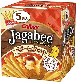 カルビー Jagabeeバターしょうゆ味 5個入