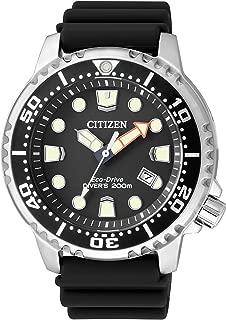 Citizen Eco-Drive Promaster Steel/Rubber Divers Mens Watch BN0150-10E
