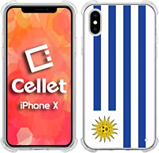 Cellet TPU / PC Proguard Case with Uruguay Flag for Apple iPhone X