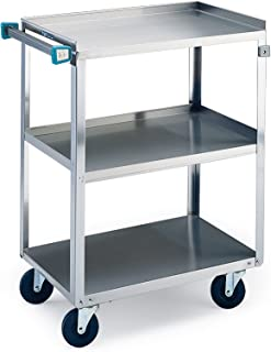 stainless steel mobile food cart