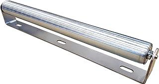 "16"" Long Roller with Bracket | Galvanized Steel | 1.5″ Diameter"