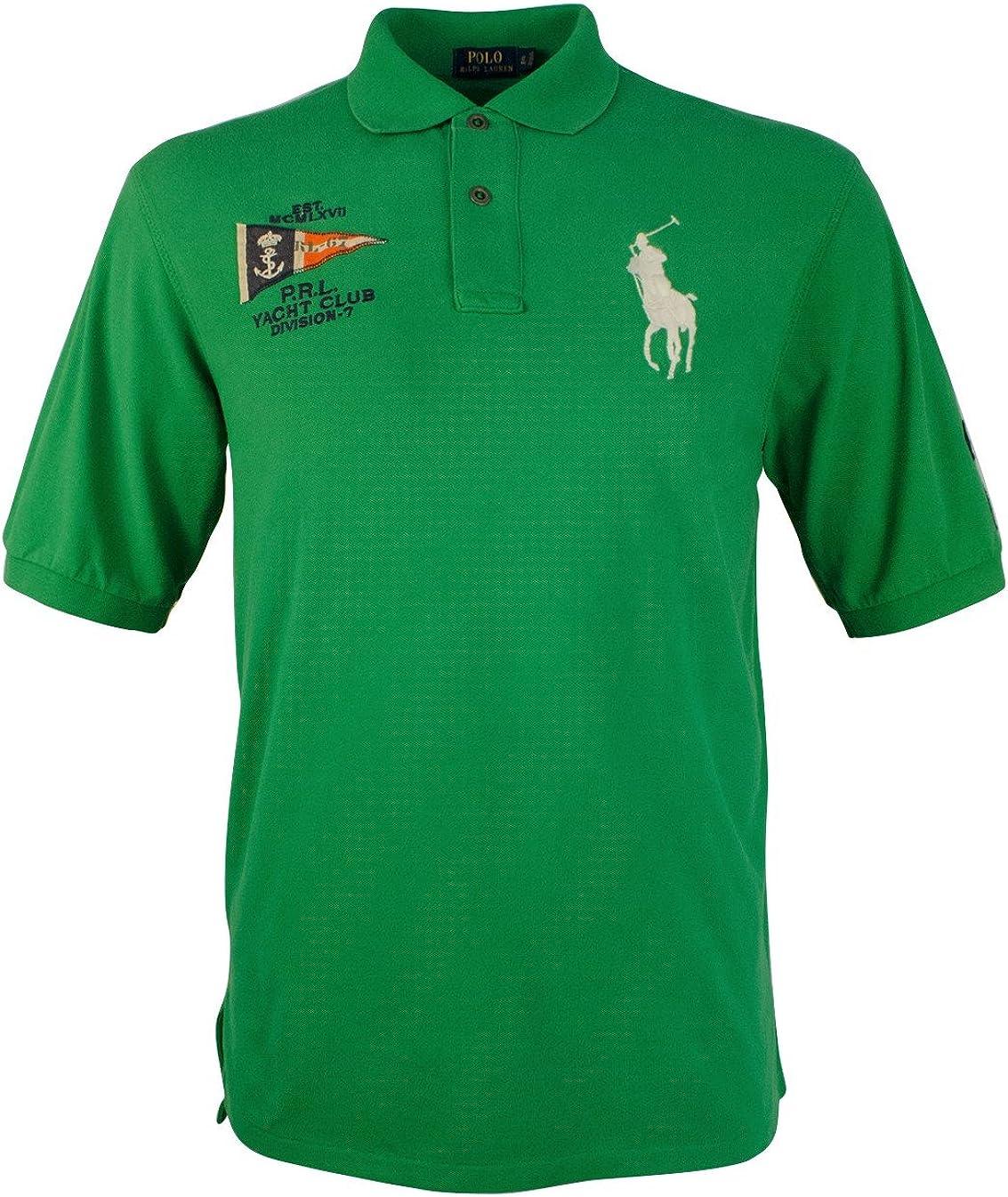 Polo Ralph Lauren Mens Big & Tall 125 Monogram Classic-Fit Polo Shirt