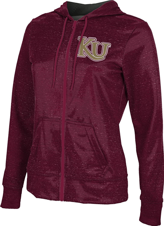ProSphere Kutztown University Girls' Zipper Hoodie, School Spirit Sweatshirt (Heather)