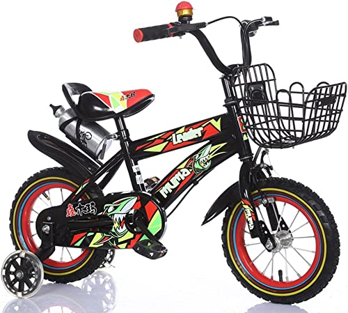 Bicyclehx Vélo d'équilibre d'origine d'enfants de Poids Léger d'abord d'exécution avec des Freins et avec des pneus d'air 12 14 16 18 Pouces édition Sportive Enfants Vélo