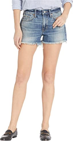 Boyfriend Shorts in Hadley Fray