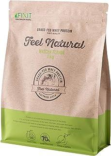 FIXIT プロテイン グラスフェッド 抹茶 1kg 無添加 人工甘味料不使用 高タンパク ホエイプロテイン プロテイン ホエイ ホエイ100 ケト whey 飲料 顆粒 サプリメント